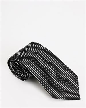Dior Pattern Silk Tie- Made in Italy