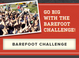 Go big with the Barefoot Challenge