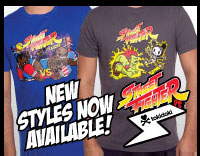 Spring 2013 Street Fighter vs tokidoki apparel!