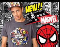 Spring 2013 tokidoki x Marvel apparel!