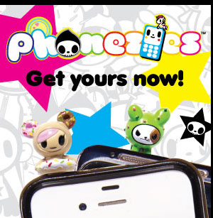 Our most popular characters now have a new place to sit Introducing tokidoki Phonezies