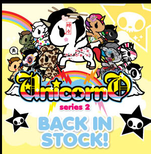 Unicorno Series 2 is back in stock!