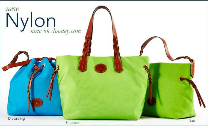 New Nylon now on dooney.com