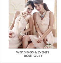 WEDDINGS & EVENTS BOUTIQUE