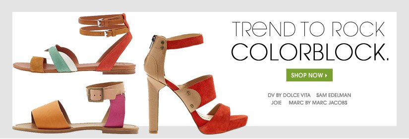 TREND TO ROCK COLORBLOCK. SHOP NOW.