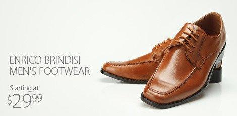Enrico Brindisi men's footwear