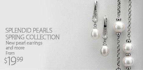 Splendid Pearls Spring Collection