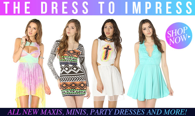 Step into Spring with Fab New Dresses!