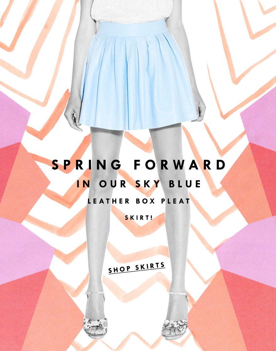 Pleated Skirts!