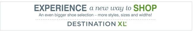DestinationXL - Shoes