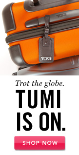 Tumi. Shop Now.