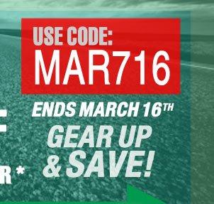 Use Code: MAR716