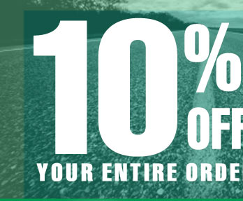 SAVE 10% OFF Your Entire Order *