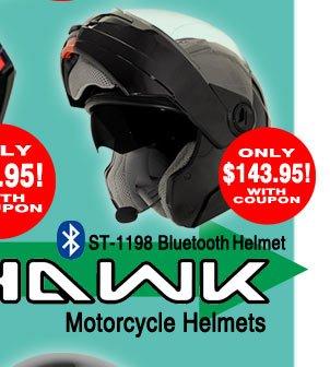 Save on HAWK Helmets