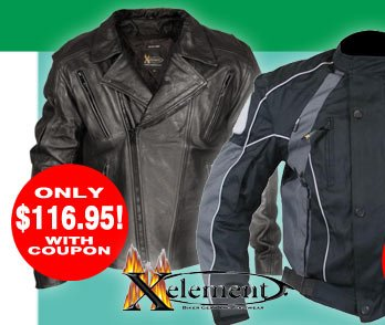 Save on Motorcycle Jackets