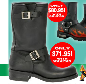 Save on Motorcycle Boots