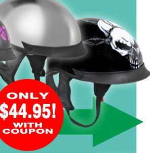 Save on the OUTLAW T-72 Dual Visor Helmet