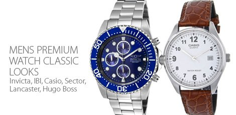 Mens Premium Watch - Classic Looks