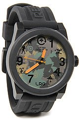 The Icon Series Watch in Black & Olive Camo