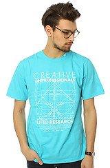 The Creative Unprofessionals S/S Tee in Aqua