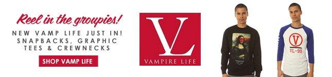 Vamp Life: Graphic Tees, Snapbacks and Crewnecks