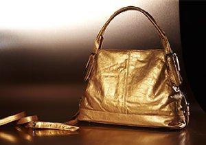 Shimmer & Shine: Metallic Handbags