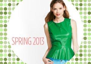 Pretty in Peplum: Tops & Dresses