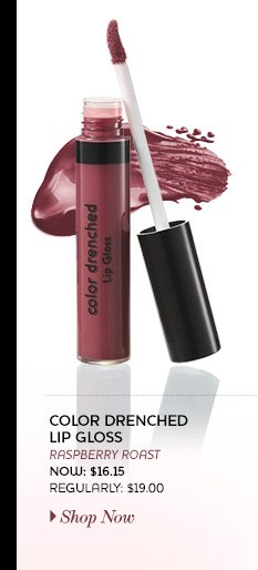 Color Drenched Lip Gloss. Now: $16.15 Regularly: $19.00