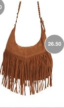 Braided Fringe Hobo Bag