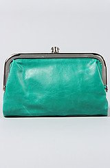 The Jessica Snap Wallet in Green
