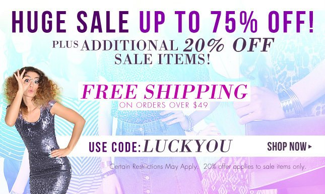 Up to 75% Off on Miss KL!