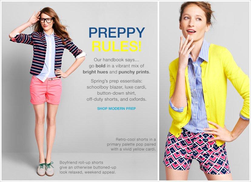 PREPPY RULES! | SHOP MODERN PREP