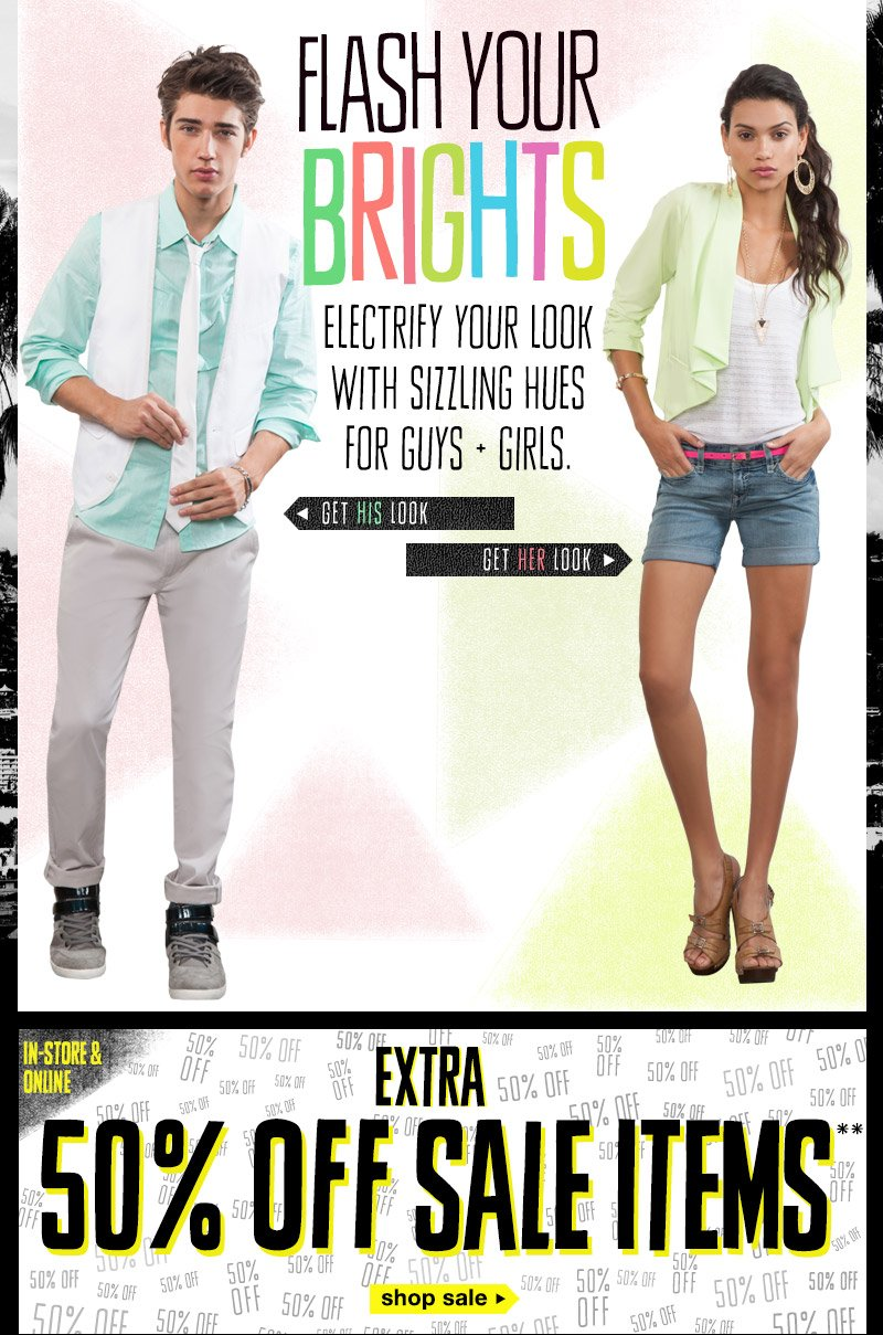 Electrify Your Look With Brights