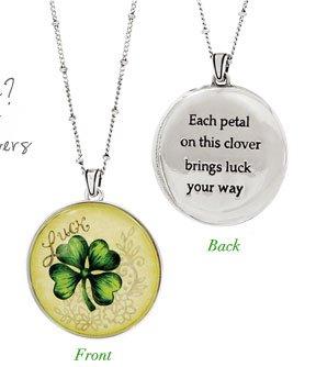 Luck Wish Round Necklace