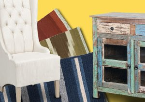 Rustic Touches: Rugs & Furnishings