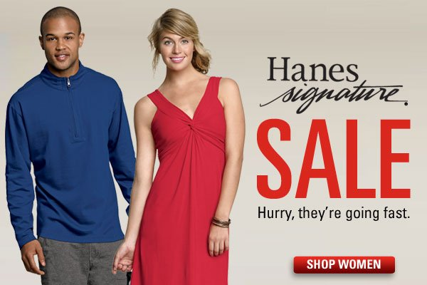 Hanes Signature Sale for Her