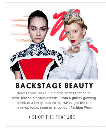 Backstage Beauty - Shop the feature