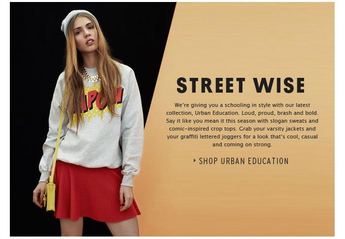 Street Wise - Shop Urban Education