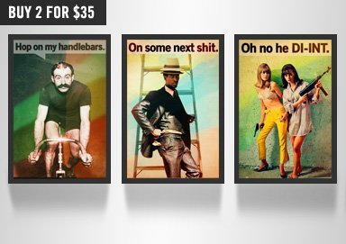 Shop Perk Up Your Pad: New Humor Posters