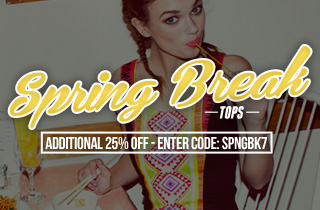 Spring Break: Tops