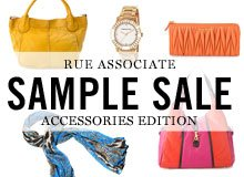 Rue Associate Sample Sale Accessories Edition