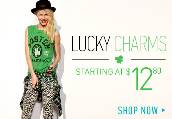 St. Patrick's Day - Shop Now