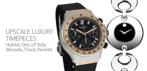 Upscale Luxury Timepieces