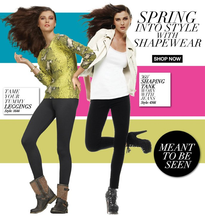 Spring into Style with Shapewear - Meant to Be Seen Legging and Tanks