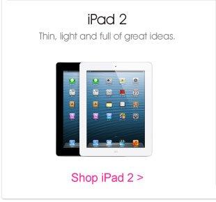 iPad 2, Thin, Light and Full of Great Ideas