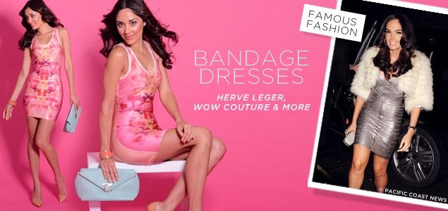 Bandage Dresses By Herve Leger, Wow Couture
