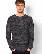 Selected Melange Jumper