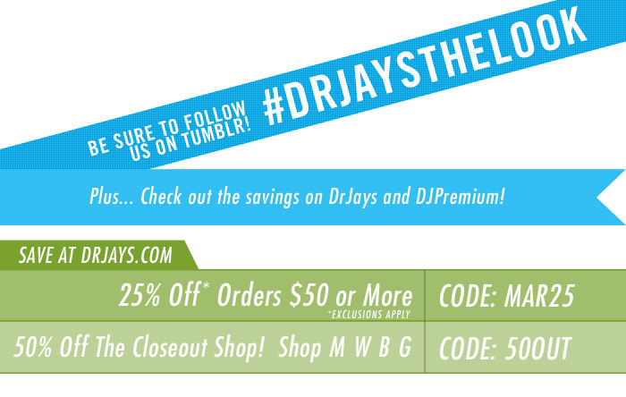 Shop DrJays.com Check out DrJays.com and DJPremium.com.