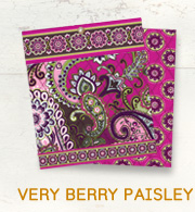 Very Berry Paisley