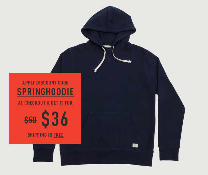Apply Discount Code SPRINGHOODIE At Checkout & Get It For $36. Shipping Is Free.